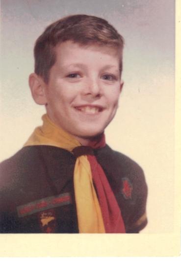Gary as a Cub