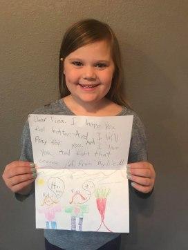 Letter Two Girl